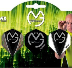 XQ-Max Darts Michael van Gerwen 5 pack Flights