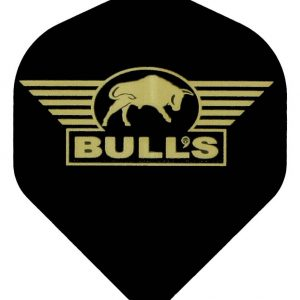 "Bull's POWERFLITE Solid ""Black"" Golden Bull's logo"